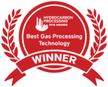 Hydrocarbon Processing Awards Best Gas Processing Technology Winner